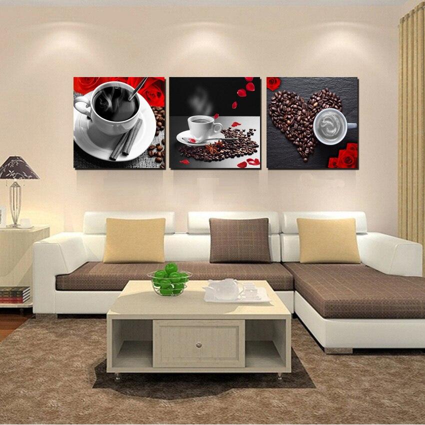 Buy 3 panel modern still life paintings - Panel pared cocina ...