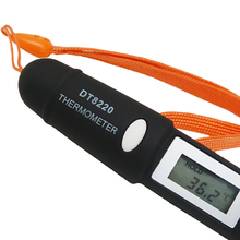 Digital LCD Mini Infrared Thermometer Temperature Meter Tester Red Laser Pocket Non Contact Pyrometer Pen Household цены