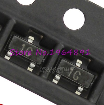 50pcs/lot BC847C BC847 1G SOT-23 In Stock