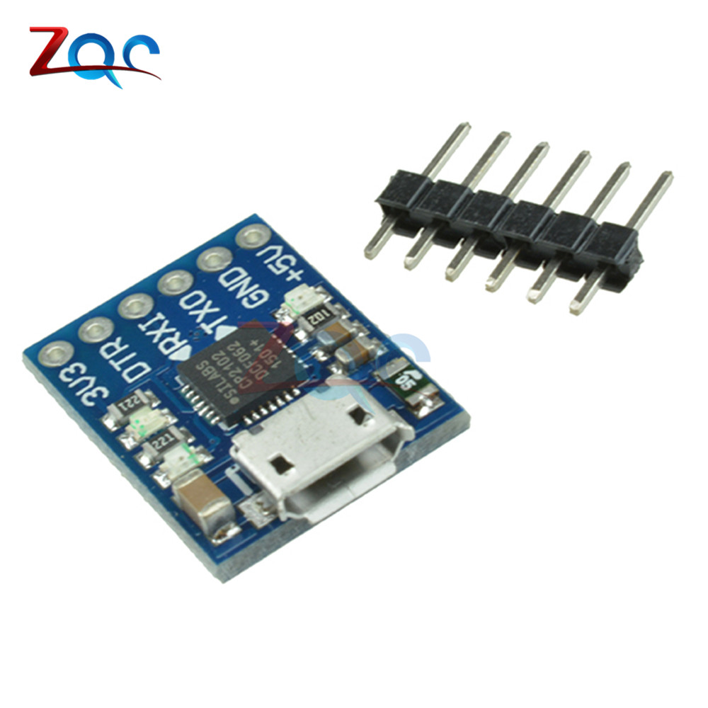 CJMCU CP2102 MICRO USB to UART TTL Module 6Pin Serial Converter UART STC Replace FT232 NEW for Arduino Pro Mini ATMEGA328P cp2102 usb to ttl stc promini download module for arduino