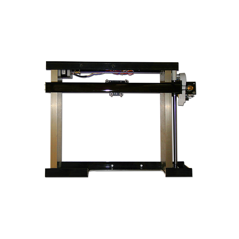 DIY CO2 Laser Stamp Machine 3020 X Y Stage Table Bed flex cable double axises single axis hiwin square guide railDIY CO2 Laser Stamp Machine 3020 X Y Stage Table Bed flex cable double axises single axis hiwin square guide rail
