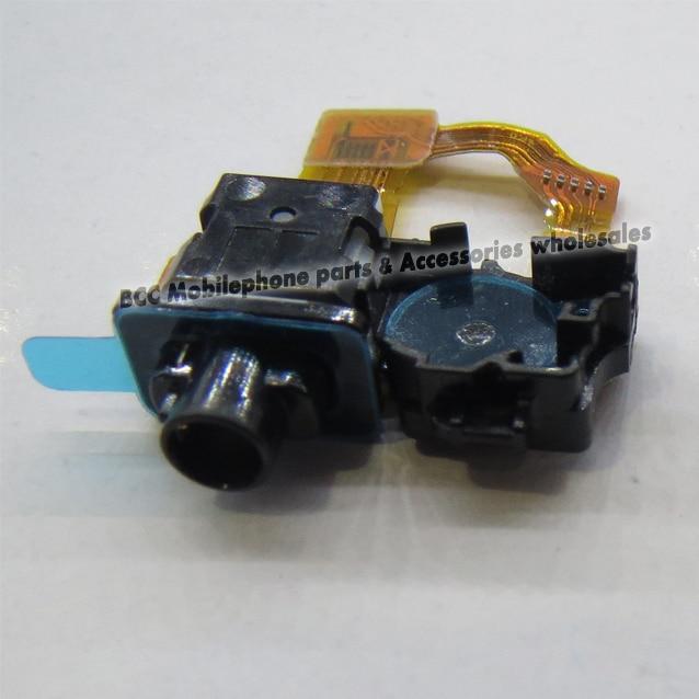 Original OEM Sensor Headphone Jack Audio Flex for Sony  Z1 L39h & Light Proximity Sensor Cable C6902 C6903 Test ok