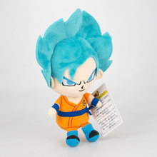 18 CENTÍMETROS Dragon Ball Son Goku Vegeta Anime Stuffed Plush Toy Dolls Bonito Brinquedos Animais para Crianças Dos Desenhos Animados do Aniversário Dos Miúdos presente(China)