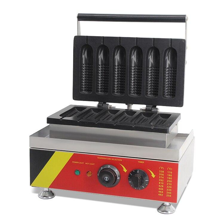 Коммерческий горячий продавать вафельный конус кукурузы собака машина чайник печь для Вафельных трубочек с CE