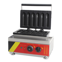 commerical hot sell waffle cone corn dog machine maker waffle stick maker with CE