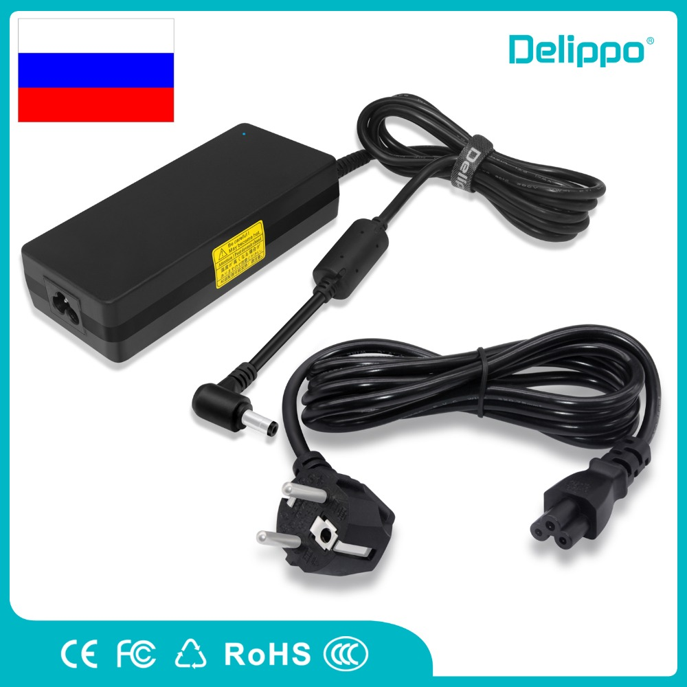 Delippo 19.5V 6.15A 120W AC Laptop Adapter Charger Power supply For MSI GE70 GE6