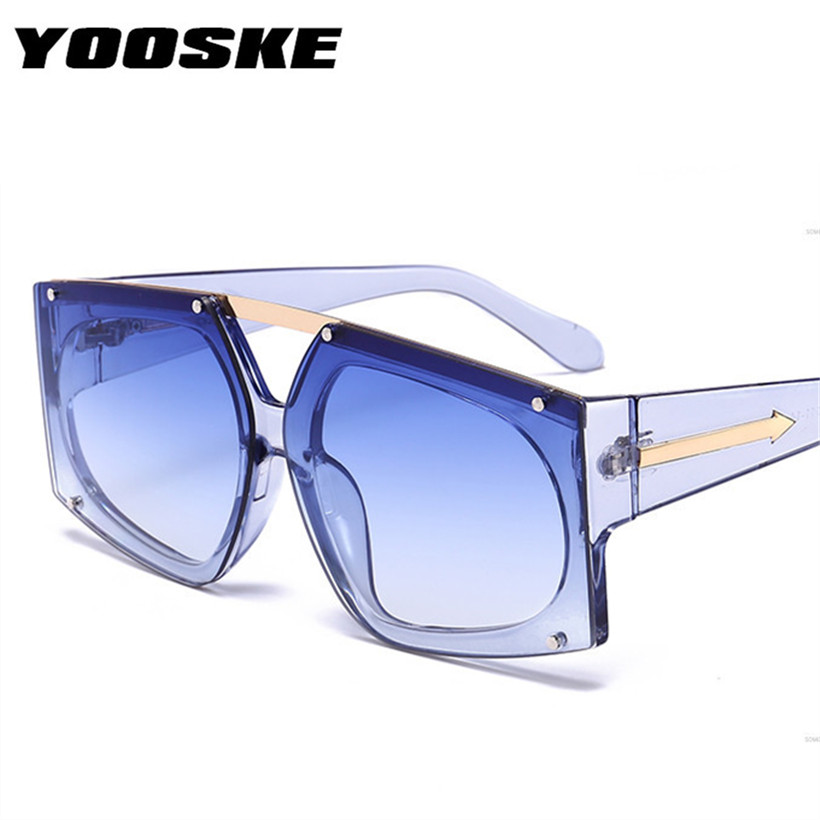 YOOSKE Oversized Square Sunglasses