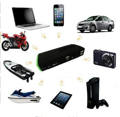 High Performance Emergency Power Portable Mini Car Battery Auto Ignition Laptops /Cell Phones Power Bank Jump Starter