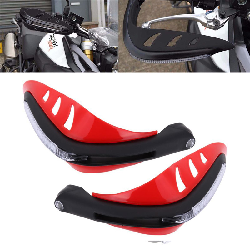 6 Colors Turn Signals LED Brush Handle Bar Hand Guard Protector for YAMAHA TT-R 250 1993 - 2004 94 95 96 97 98 99 00 01 02 03