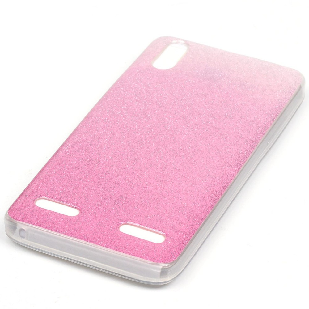 ⊱Beautiful Thin Glitter Gradient Change Color Case Soft IMD TPU ...