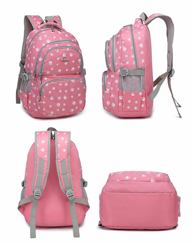 Fashion kids book bag breathable backpacks children school bags women leisure travel shoulder backpack mochila escolar infantil 11