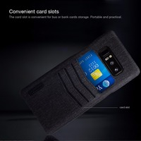 NILLKIN Luxury Classy Case For Samsung Galaxy Note 8 Case Business Card Holder Back Cover Phone
