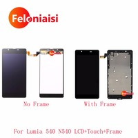10Pcs Lo 5 For Nokia Microsoft Lumia 540 N540 Full Lcd Display With Touch Screen Digitizer