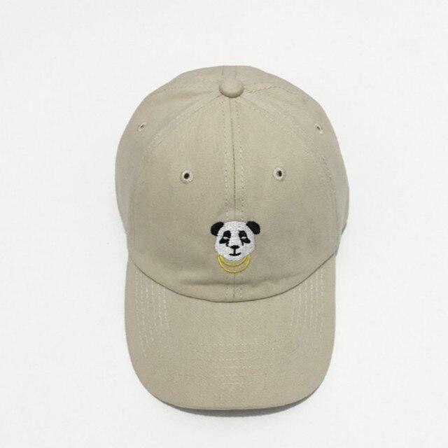 Which en coton femmes panda papa | Chapeau ajustable dessin animé, casquette de baseball, hip hop broderie, chapeau à rabat dété soleil os