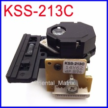Free Shipping 10pcs KSS-213C Optical Pick-Up Head KSS213C CD Player Laser Lens