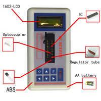 Testeur de Transistor de testeur de Circuit intégré professionnel testeur de Transistor à Led numérique de Maintenance en ligne