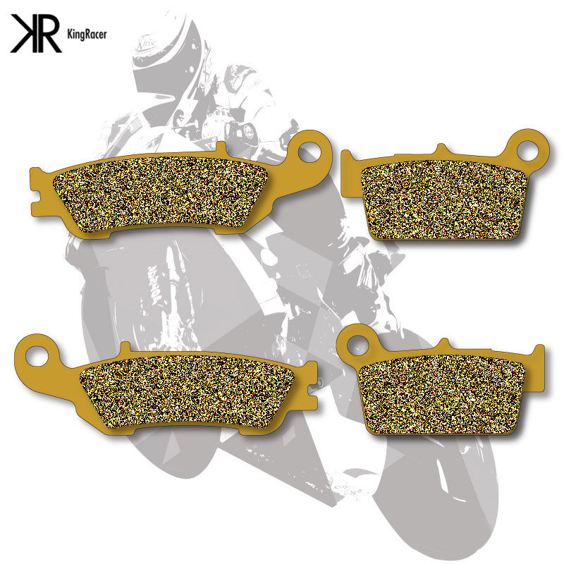 Motorcycle Brake Pads Front+Rear For YAMAHA YZ 125 08-13 YZ 250 07-13 YZ 450 08-13