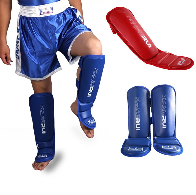Shin Instep Elbow Pads MMA Leg Arm Guards Muay Thai Kick Boxing Protector