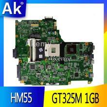 AK N61JV материнская плата для ноутбука ASUS N61JV N61J Тесты Оригинал материнская плата GT325M 1 ГБ HM55