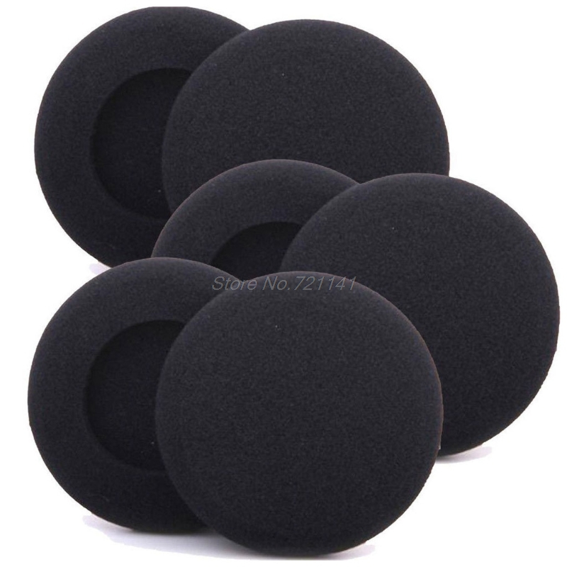 10Pcs 50mm Soft Sponge Headband Headphone Pad Cushion Headset Cover Replacement Electronics Stocks