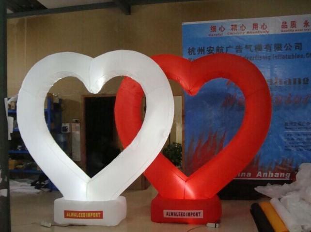 Lighting_Inflatable_Heart_Wedding_Decor