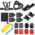 4 х SJCAM sj4000 батареи + Горячие аксессуары kit + двойной зарядное устройство для SJCAM sj5000 плюс sj6000 SJ8000 sj7000 камеры аксессуары