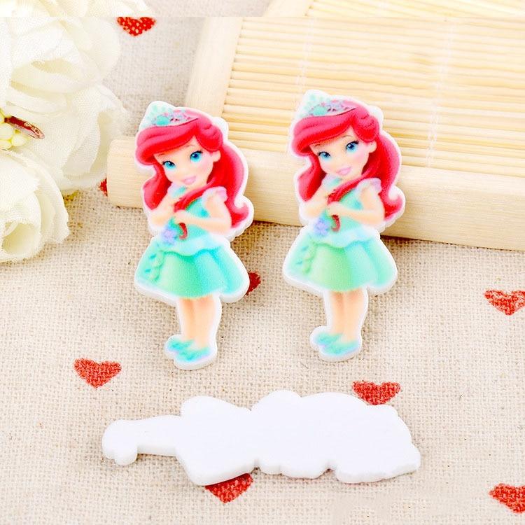 Diy crafts the little mermaid baby ariel princess figurine for Ariel decoration