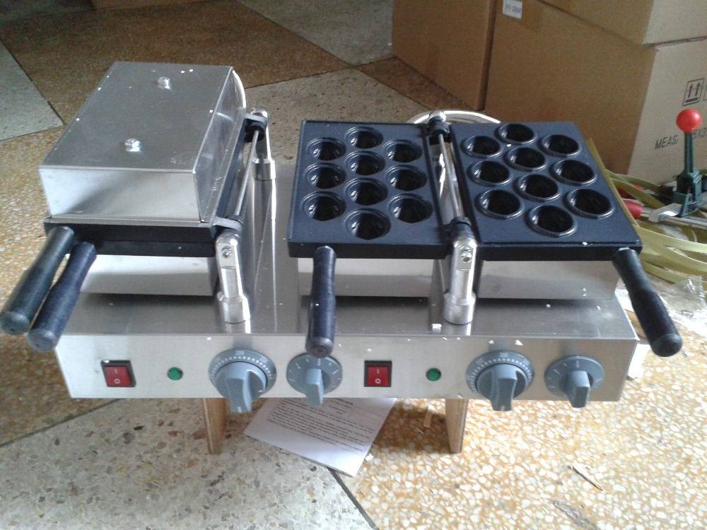 Free shipping ! only 220v  Walnut waffle maker machine the walnut trees of altenburg paper only