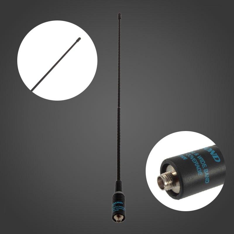Diamant RH-771 Bleu Logo SMA-Femelle Antenne Double Bande 144/430 MHz Pour Two Way Radio UV-5R UV-B5 TG-UV2 KG-UVD1P PX-888 MILLIERS TK-3107