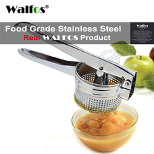 WALFOS Stainless Steel Potato Ricer Masher Fruit Vegetable Press Juicer Crusher Squeezer Household Kitchen Cooking Tools