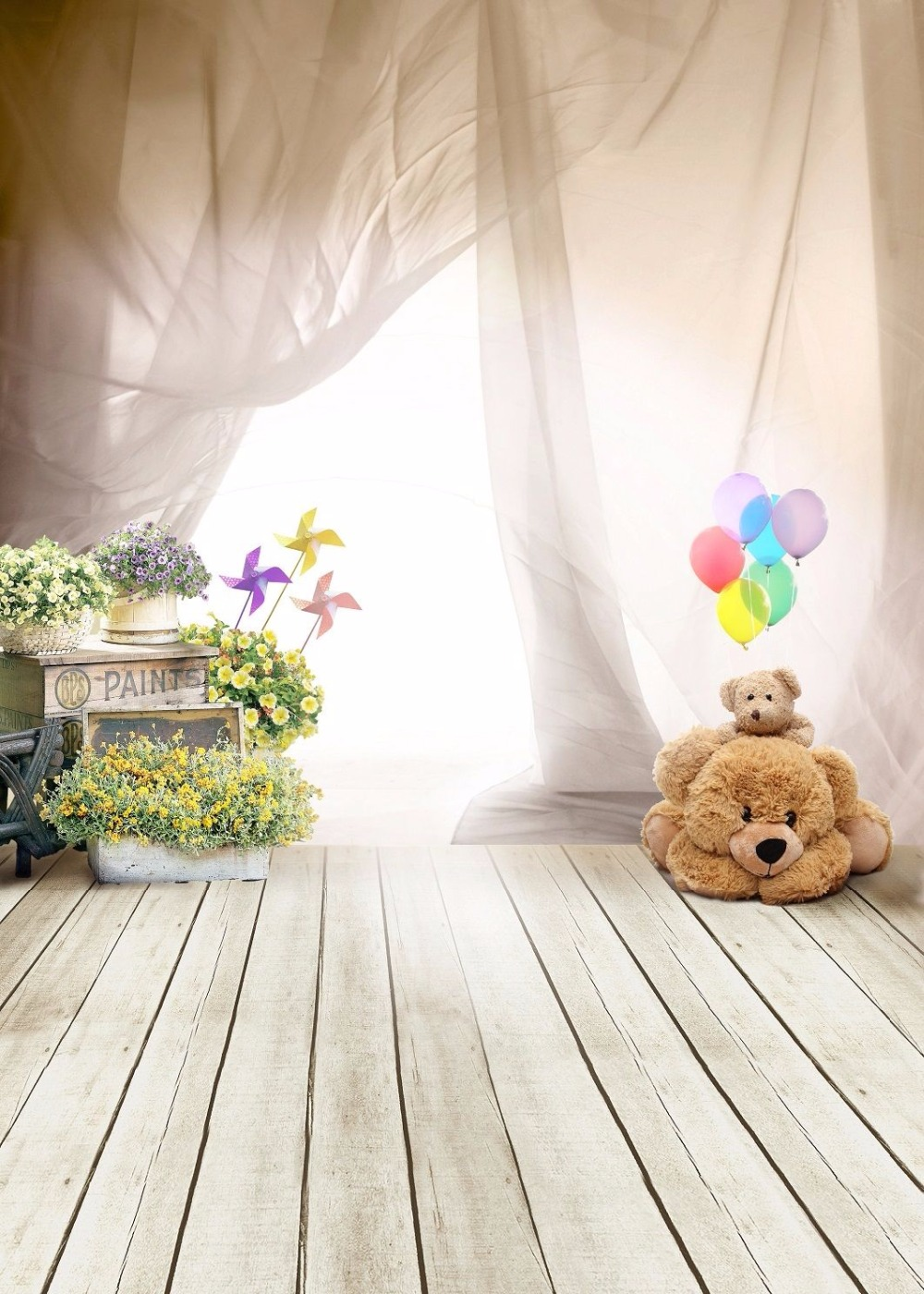 Baby Background Photography Backdrops Wristband Smart Watch Wearable  Curtain Wood Floor Backdrops Bear Background Photo Studio  In Background  From Consumer ...