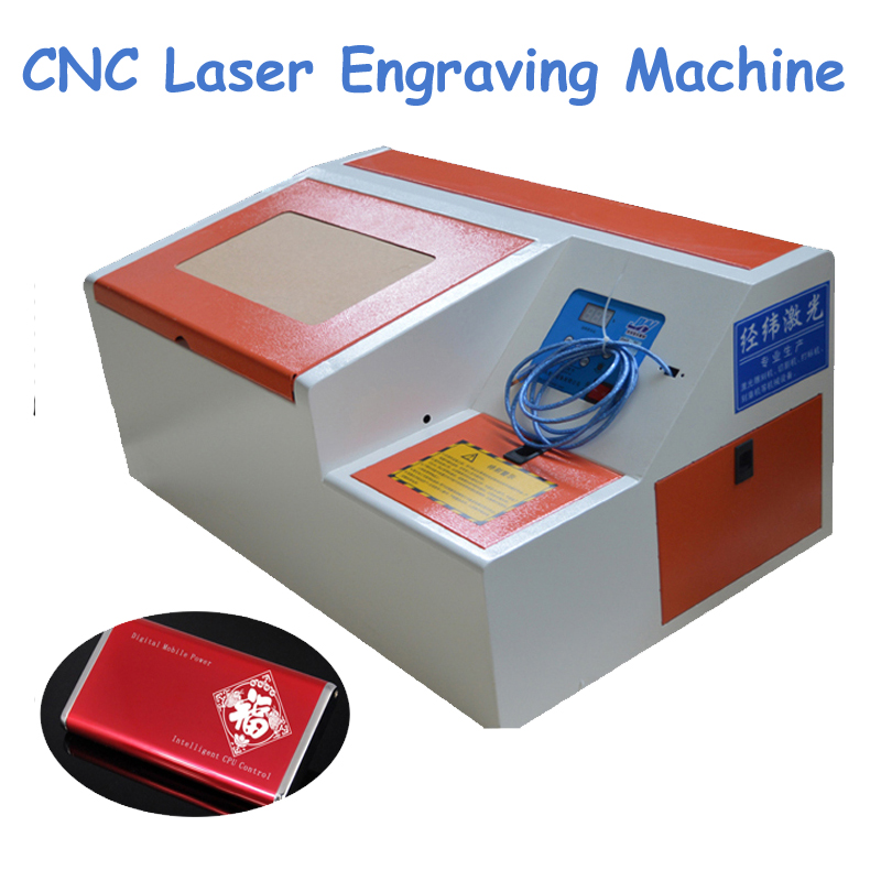 40W CNC Laser Cutting Machine New Type Computer Stamp Marking Machine Stamper Laser Engraving/ Carving Machine Laser Cutting 6040 cnc laser engraving and cutting machine
