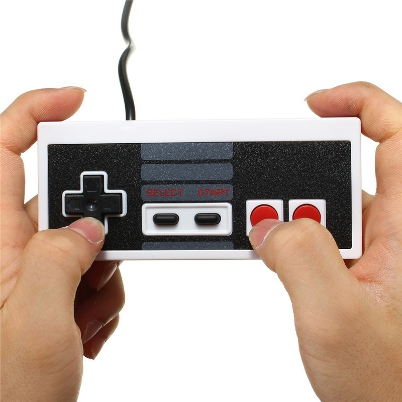 Brand New Wired Controller Gaming Joypad Joystick Controller/ Gamepad for NES Windows PC ...