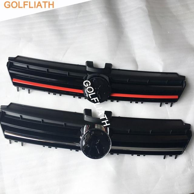 GOLFLIATH For VW Golf MK7 R Badge Front Center Grille
