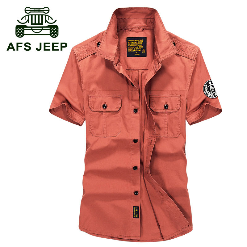 High-Grade Men Brand Clothing 2017 Hot Summer Dress Short Sleeve Shirts Straight Casual  ...