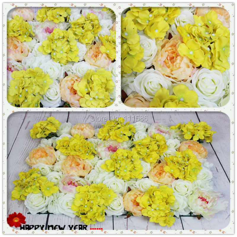 Spr yellow white series artificial rose flower wall arch wedding spr yellow white series artificial rose flower wall arch wedding party decorations backdrop table centerpiece flower ball mightylinksfo