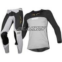 2019 Delicate Fox Flexair Royl Grey MX Gear Set Motocross Motorcycle Dirt bike Off-Road Adult Racing Jersey Pants