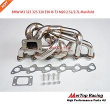 Mertop гонки M3 323 325 328 E30 I6 T3 M20 2.5L/2.7L Выпускной турбо коллектор 81-94
