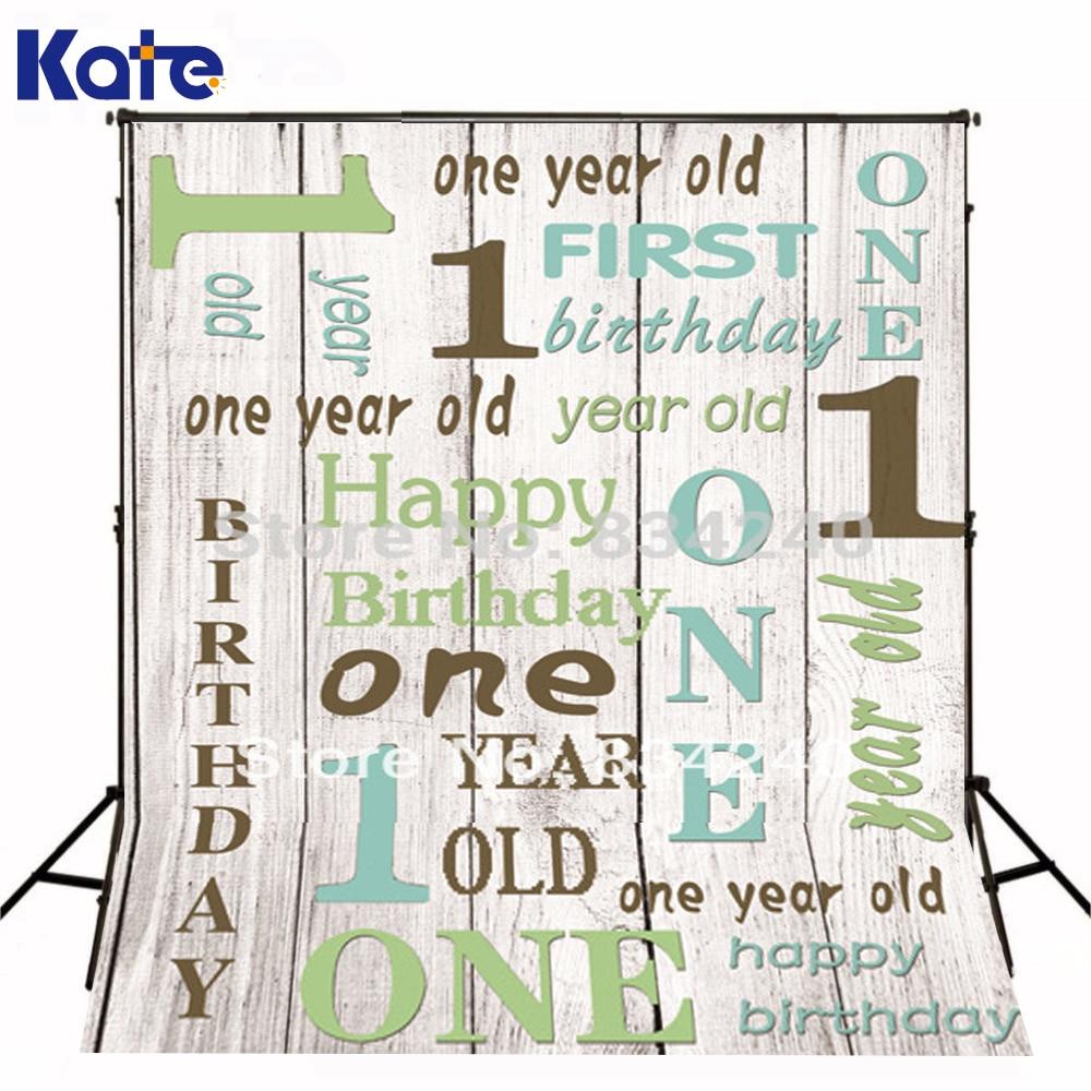 KATE Photo Studio Birthday Background 1ST Birthday Costume Photographic Background Studio  Can Be Customized  zzj50