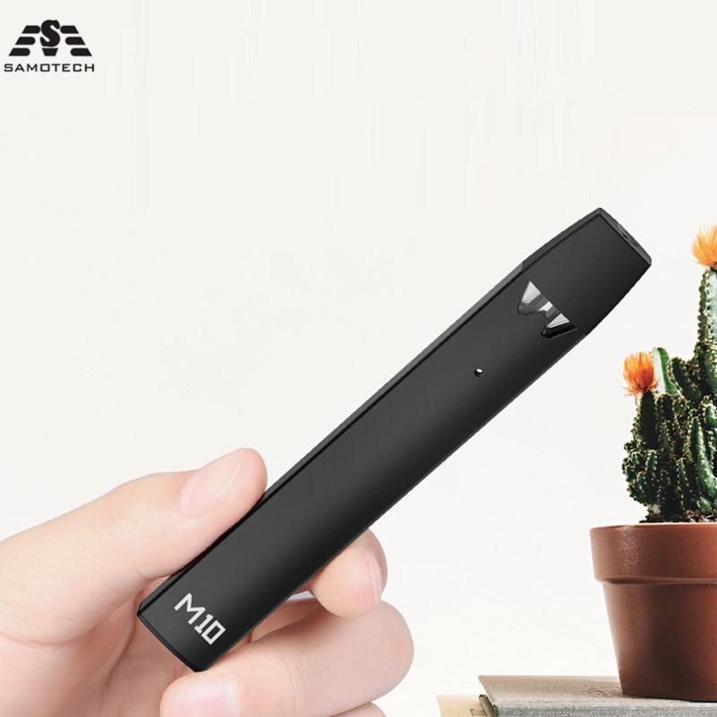 10 pièces nouveau Kit de Vape M10 240mAh batterie intégrée 1.5ML cartouche système de dosette liquide E-Cigarette Kit VS cobra couvert vape