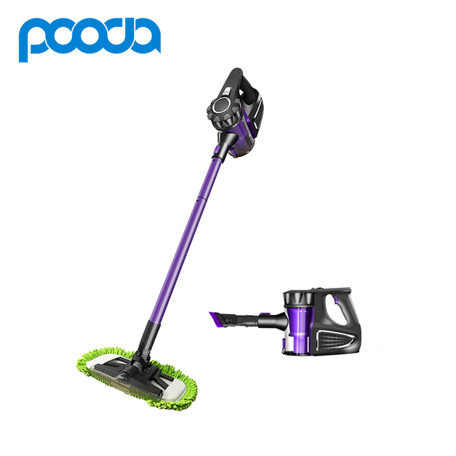 Pooda Mini Wireless Vacuum Cleaner 2 In 1 Washing Cleaning Sweeping Machine Handheld Cordless