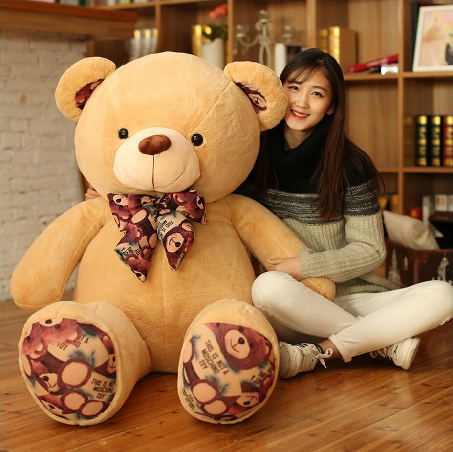 Kawaii 160cm Large Size Doll Plush toys large size 1m / teddy bear big 4 colors embrace bear doll /christmas gifts birthday gift 1pcs large size 120cm teddy bear plush toys bear 4 colors high quality kisd toys bear doll lovers christmas gifts birthday gift