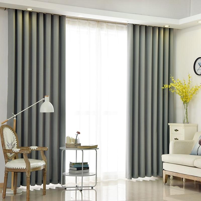 Einfarbig Faux Leinen Zimmer Verdunkelung Vorhänge für Wohnzimmer  Schlafzimmer Fenster Vorhang küche Jalousien Vorhänge Zurück Samt