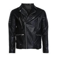 2018 Fall Fashion Leather Jacket Cuir Homme Causal Jacket Men Blouson Turn down Collar jaqueta de couro Men Jacket Coats TNN#