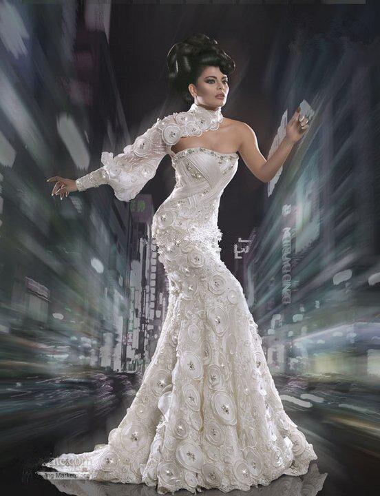 Arabic Wedding Dresses 2014