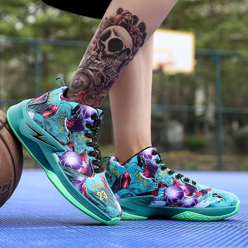 Basketball Schuhe Sport Herren Kobe 12 Trainer Stoßfest Professionelle Freien Jd Turnschuhe Max Größe 44 Athletic Man Lbj Sport Neueste Mode