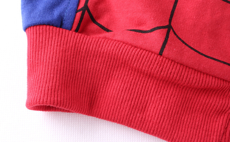 Children Clothing Autumn Winter Toddler Boys Clothes Sets Spiderman Costume Kids Clothes For Boys Clothing Suit 3 4 5 6 7 Year 36