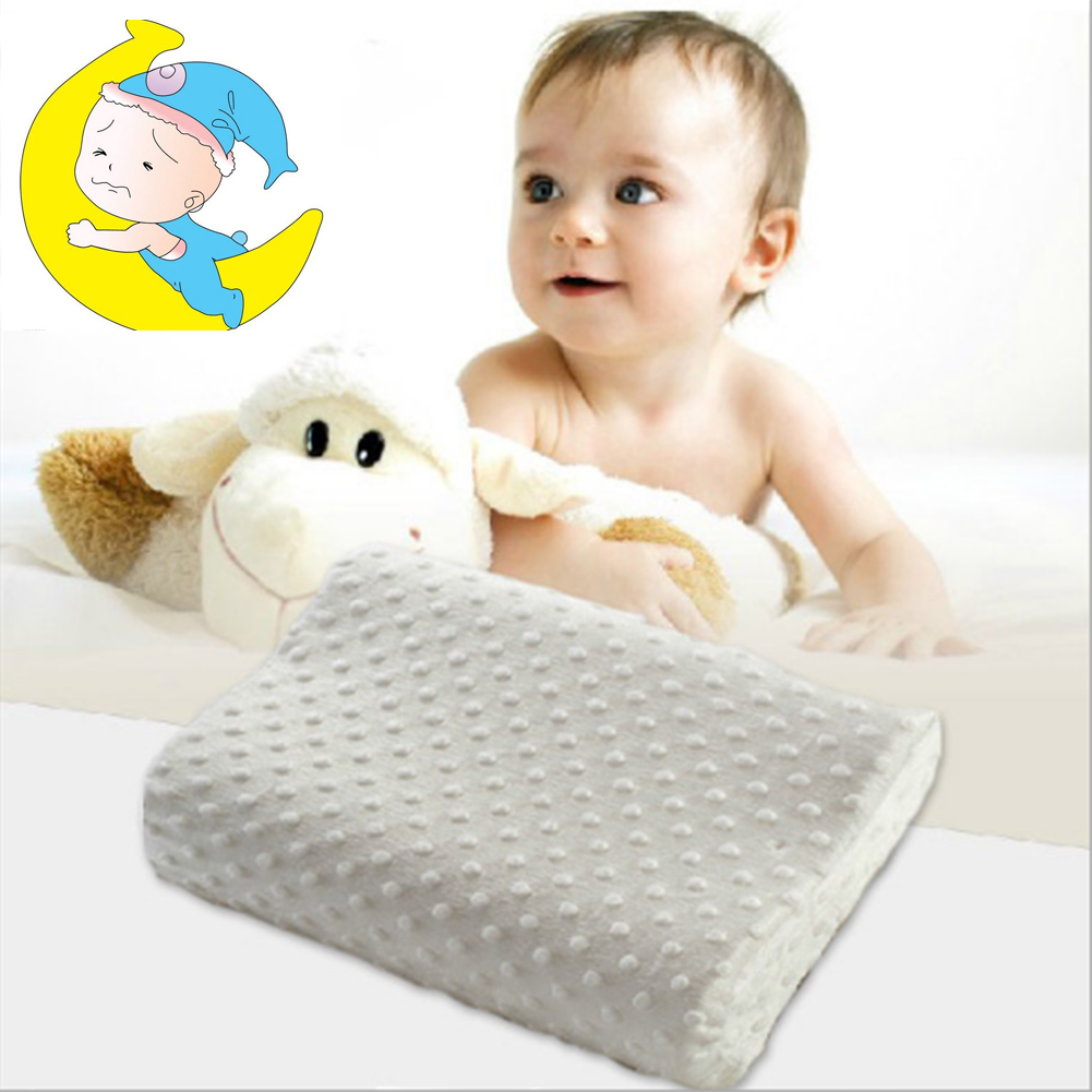 Baby Infant Neck Pillow Slow Rebound Memory Foam Pillow Health Care Pillow Polyester Cotton High Quality Baby Pillows