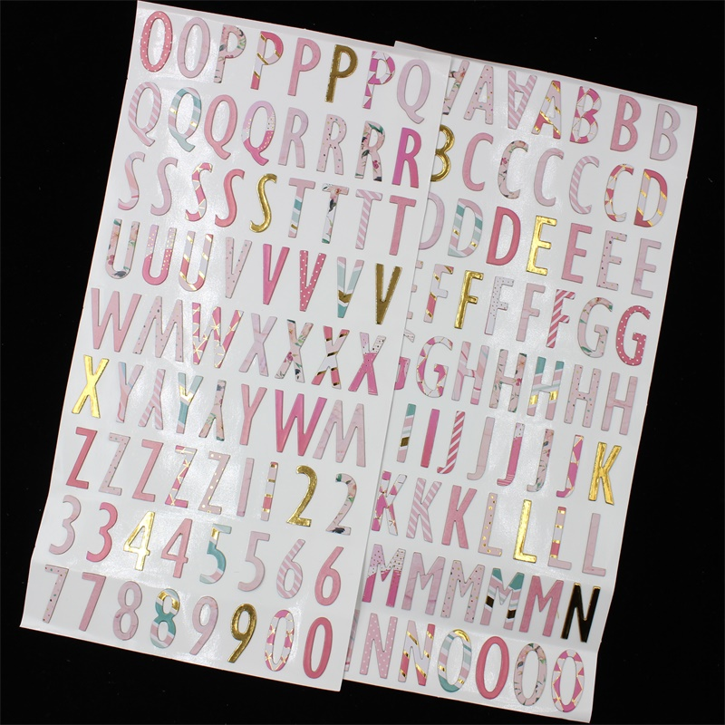 KSCRAFT nouveau joli ensemble Alphabet pour Scrapbooking bricolage projets/Album Photo/fabrication de cartes artisanatKSCRAFT nouveau joli ensemble Alphabet pour Scrapbooking bricolage projets/Album Photo/fabrication de cartes artisanat