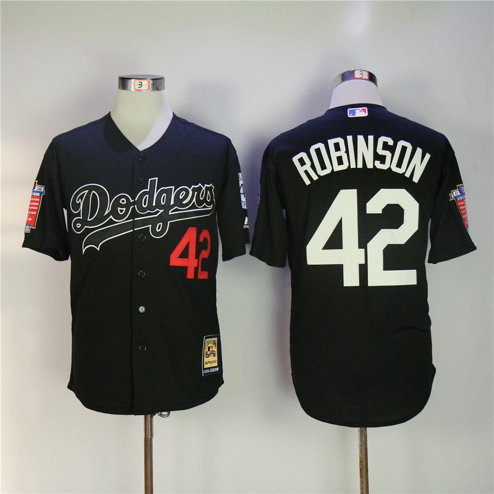 Мужские Los Angeles Dodgers Джеки Робинсон Coolbase полностью Сшитые Возврат Бейсбол Джерси ...